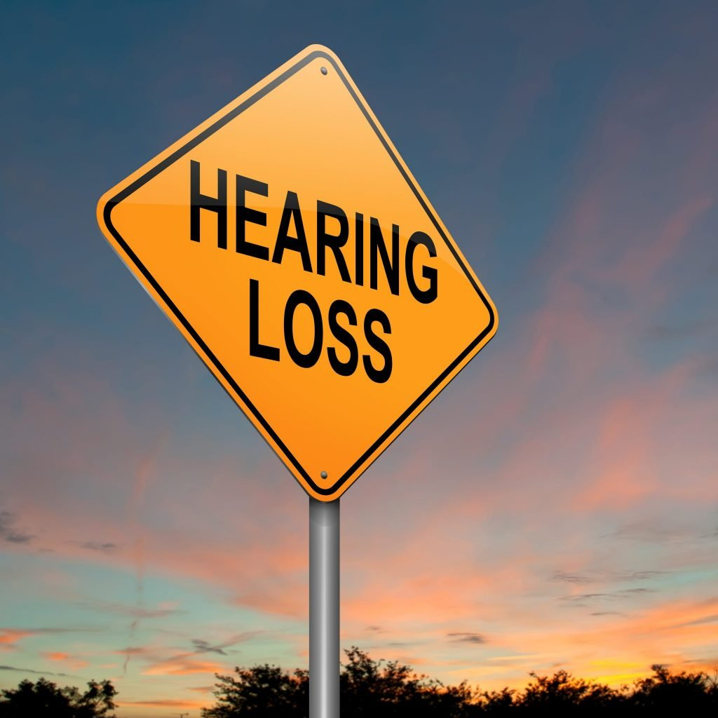 Hearing Loss Sign